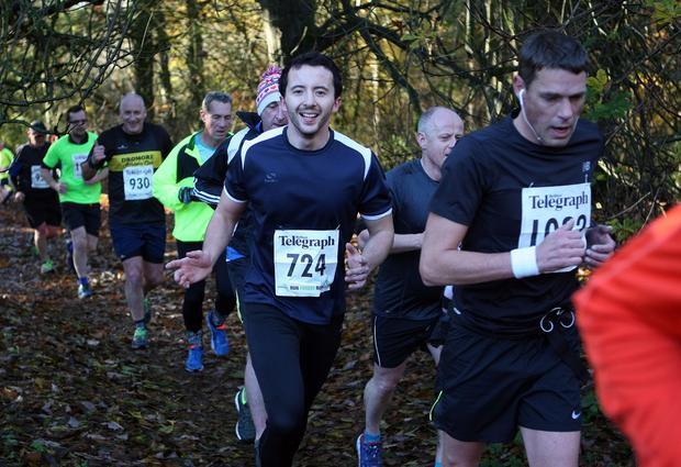 Mandatory Credit - Picture by Freddie Parkinson/Press Eye © Saturday 19th November 2016 Belfast Telegraph Run Forest Run Drum Manor Forest Park, Drum Road, Cookstown BT80 9RT Christopher Addis Downpatrick