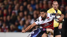 Eyebrow raiser: Charles Piutau will become the highest paid player in the world when he moves to Bristol at the end of this season