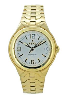Men's 18ct Gold Ebel watch worth £13,500.