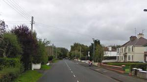 The burglary happened at a house on the Coleraine Road in Ballymoney. Credit: Google