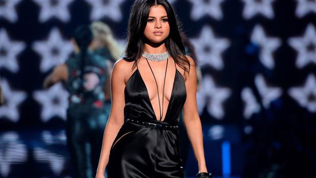 Selena Gomez performs during the Victoria's Secret Fashion Show at the Lexington Armory on Tuesday, Nov. 10, 2015, in New York. The Victorias Secret Fashion Show will air on CBS on Tuesday, Dec. 8, at 10pm EST. (Photo by Evan Agostini/Invision/AP)