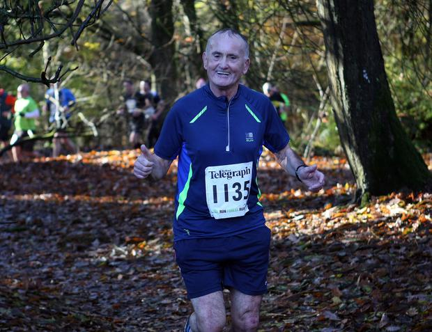 Mandatory Credit - Picture by Freddie Parkinson/Press Eye © Saturday 19th November 2016 Belfast Telegraph Run Forest Run Drum Manor Forest Park, Drum Road, Cookstown BT80 9RT Pat Maguire Newry