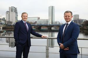 John Kearns, senior partner and Chris Guy, managing partner