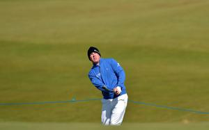 NEWCASTLE, NORTHERN IRELAND - MAY 28:  Richie Ramsay of Scotland during Day One of the Irish Open at Royal County Down Golf Club on May 28, 2015 in Newcastle, Northern Ireland.  (Photo by Charles McQuillan/Getty Images)