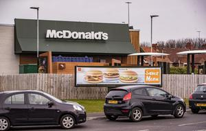 McDonald's plans to reopen its Northern Ireland walk-in service in two weeks.