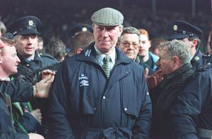 After retiring from playing, Charlton spent time as manager of Middlesbrough, Sheffield Wednesday and Newcastle before leading the Republic of Ireland to the 1990 and 1994 World Cups (PA)