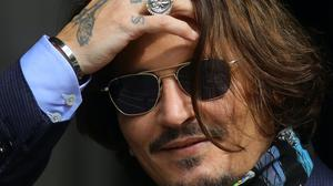 Johnny Depp arrives at the High Court in London (Aaron Chown/PA)