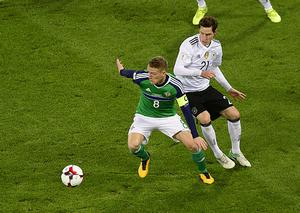 PACEMAKER BELFAST  05/10/2017 Northern Ireland v Germany World Cup Qualifier Group C.