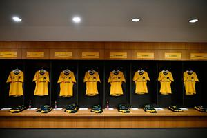 DUBLIN, IRELAND - NOVEMBER 26:  A general view of the Australia dressing room prior to the international match between Ireland and Australia at the Aviva Stadium on November 26, 2016 in Dublin, Ireland. (Photo by Dan Mullan/Getty Images)