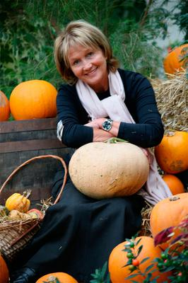 Fun foraging: Jenny Bristow likes to make the most of seasonal foods