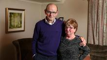 Andrew and Patricia Cardy, parents of Jennifer Cardy pictured in their Ballinderry home.