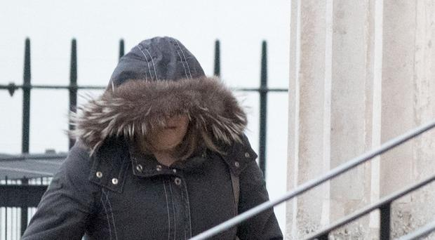 Tracey Curran at Court in Londonderry.