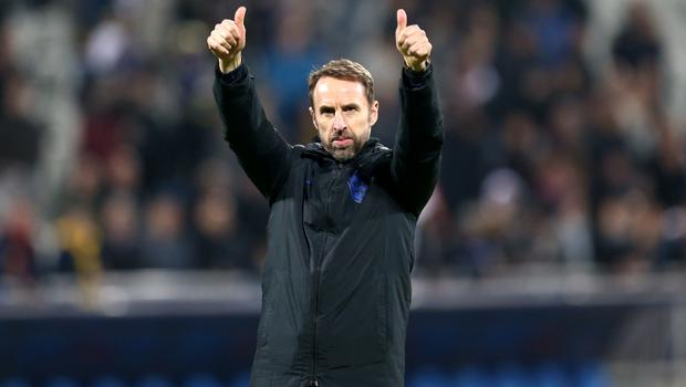 England manager Gareth Southgate will discover his side's Euro 2020 finals opponents on Saturday (Steven Paston/PA)