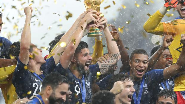 World champions France would be tough opponents for England (Owen Humphreys/PA)