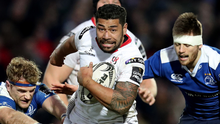 Fired up: Charles Piutau is relishing the challenge of taking on Munster at Thomond Park. Photo: Billy Stickland/INPHO