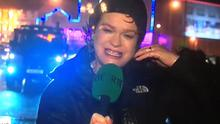 RTE journalist Teresa Mannion was a hot topic on social media following her live weather report