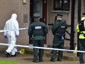 Detectives from the Police Service of Northern Ireland's Major Investigation Team have launched a murder investigation following the death of a man in a flat in the Crebilly Road area of Ballymena. PACEMAKER BELFAST  30/09/2020