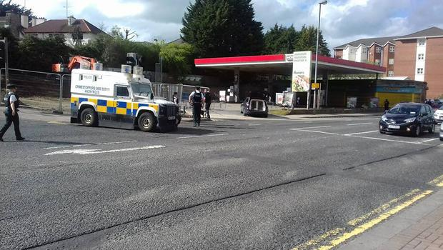 Police are currently attending two security alerts in Derry. Credit: John Boyle