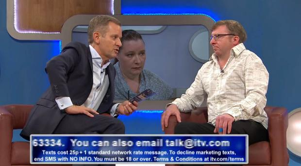 Trevor Begley on the Jeremy Kyle Show