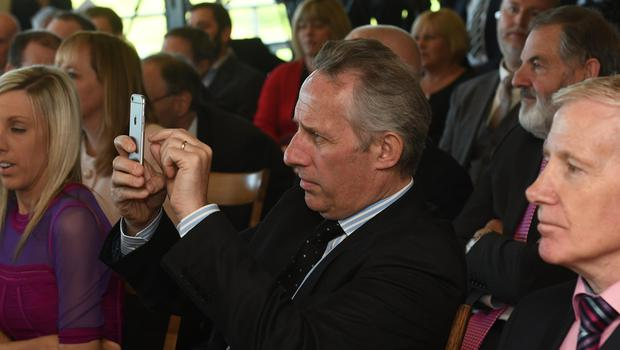 Pacemaker Press 8/5/2017 DUP's Ian Paisley Jnr  during the Launch of the DUP's General election campaign launch at the Castlereigh Hills Golf in East Belfast on Monday, ahead of the election on the 8th of June. Pic Colm Lenaghan/Pacemaker