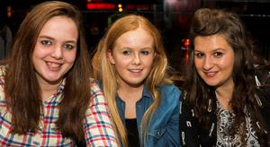 Alley cat belfast pictured Jade Fox, Rachel McCabe and Anna Ryan