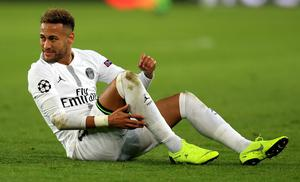 PSG's Neymar was involved in an altercation with a fan in May 2019 (Mike Egerton/PA)
