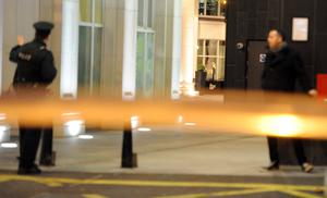 Dissident republicans have claimed responsibility for a small explosion in Belfast city centre's Cathedral Quarter area on Friday night. Photo Colm Lenaghan/Pacemaker Press
