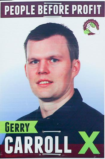 People Before Profit's Gerry Carroll
