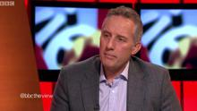 Ian Paisley on BBC's The View. Pic BBC