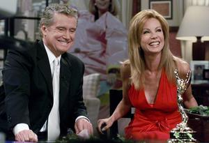 Regis originally hosted his breakfast show alongside Kathie Lee Gifford (AP)