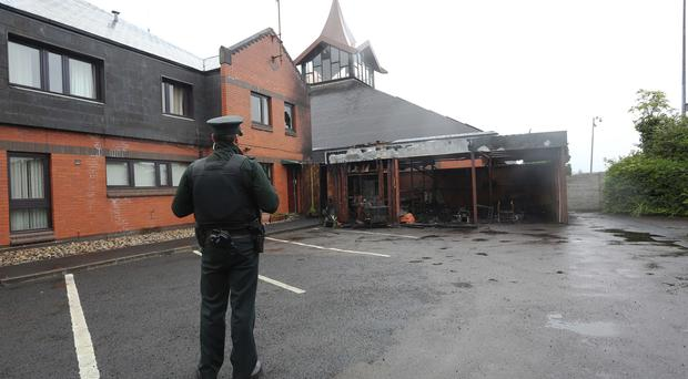 A late-night fire at a church in Londonderry is being treated as arson, the Northern Ireland Fire and Rescue Service (NIFRS) has said. Photo by Lorcan Doherty / Press Eye.