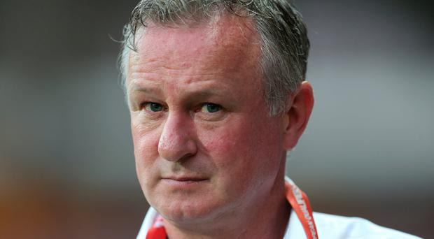 Norther Ireland manager Michael O'Neill