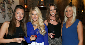 The National Grande Cafe Bar: Caroline Reid, Sarah Hill, Lisa Morrow and Victoria Walsh