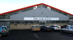 Desmonds Factory To Close At Springtown In Derry Feb 2003 Desmonds clothing factory at Dungiven.