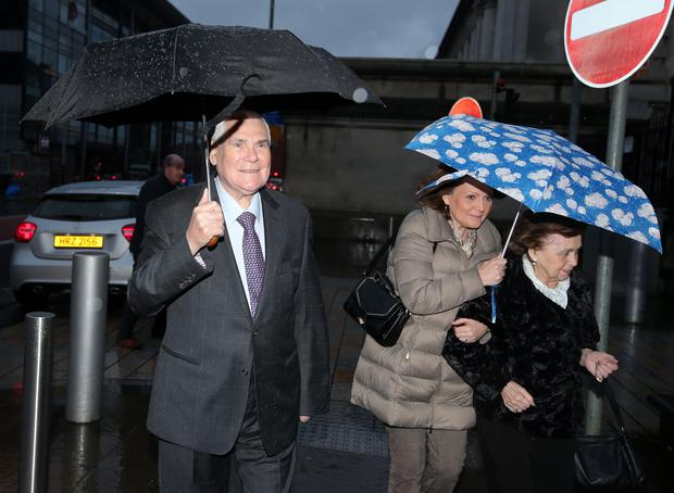 Press Eye - Belfast - Northern Ireland - 5th January 2016   Pastor James McConnell arrives at Langanside courts in Belfast to hear the judgement on the case which was taken against him regarding comments he made in one of his sermons.  Picture by Jonathan Porter/PressEye