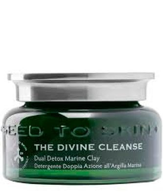 Seed To Skin The Divine Cleanse dual detox marine clay cleansing gel, £78, Liberty