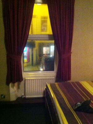 Compact but clean - Kim's room at The Eglinton Hotel in Portrush