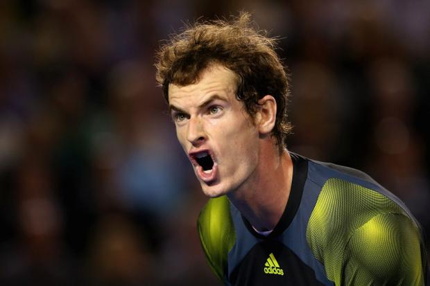 Commitment: Andy Murray