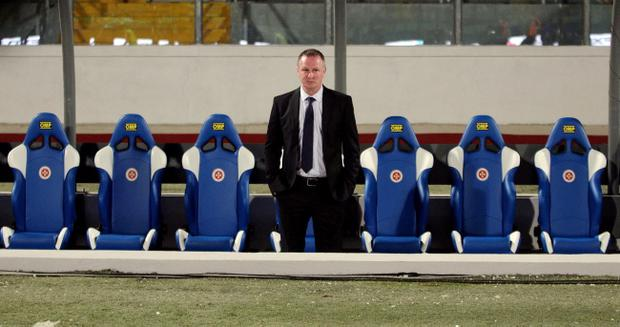 Michael O'Neill is still waiting for his first win as Northern Ireland manager after eight games in charge