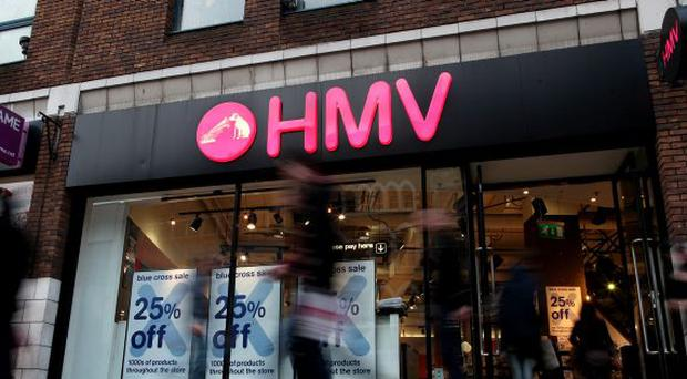Entertainment Superstore, HMV has gone into Administration. HMV in Donegal Place, Belfast