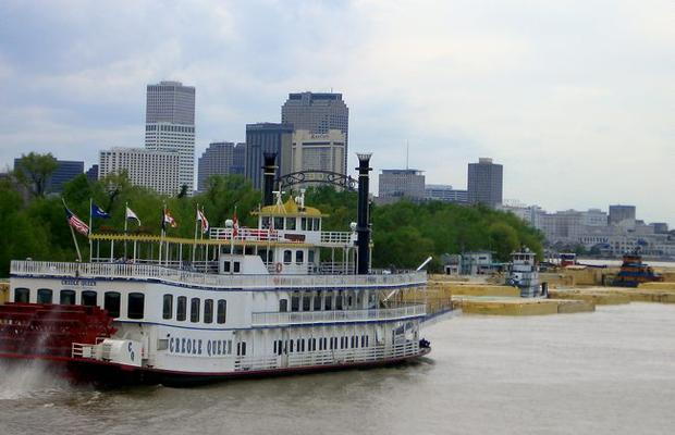 Riverboats in New Orleans
