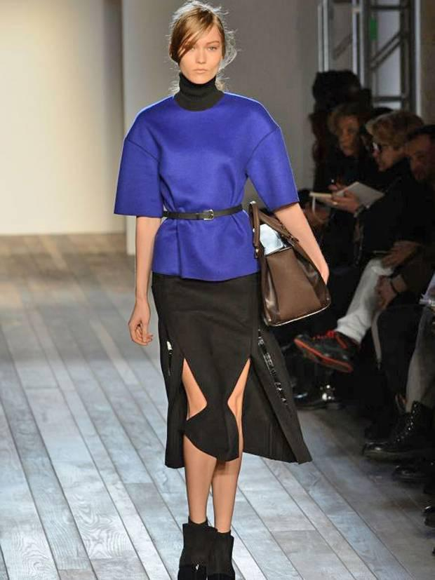 Victoria Beckham AW13 show during the Mercedes-Benz New York Fashion Week