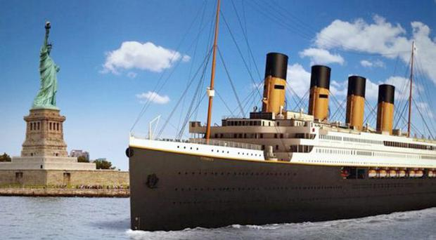 An artist's impression of Titanic II