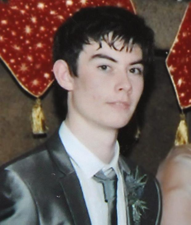 Keelan Mullan died in a collision with a tractor at the weekend in Co Derry
