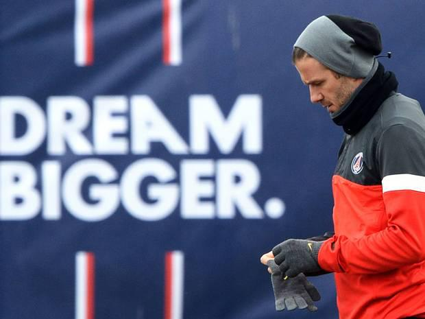 David Beckham - £175m The Former Manchester United and Real Madrid midfielder played an important role in both teams' success domestically and in European competitions. David Beckham recently signed a five month deal with Paris Saint-Germain and committed his entire salary to a local children's charity.