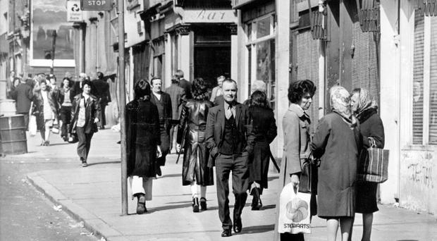 Belfast. Shankill Road. 5/5/1977