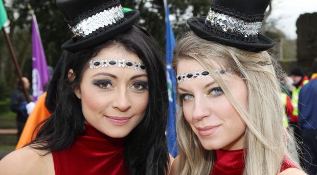 St Patrick's Day celebrations - Armagh 2013 ©Press Eye