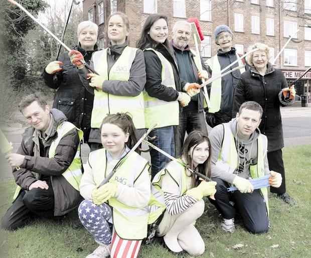 Merville residents who took part in the Big Spring Clean