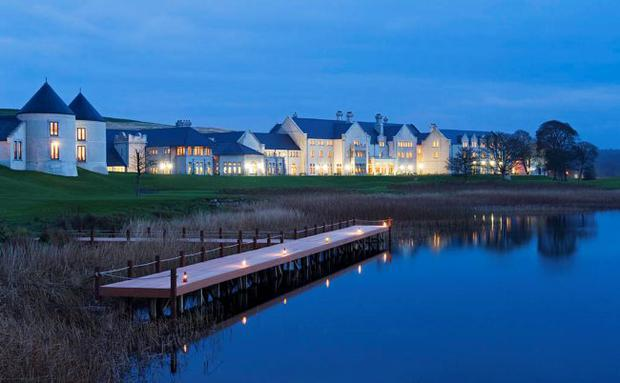 Luxury stay: The lakeside Lough Erne Hotel and golf resort