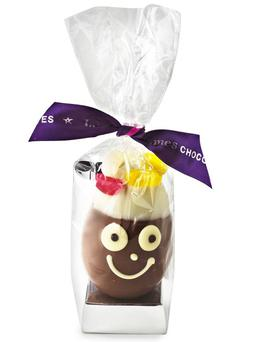 1. James' Chocolate Egg Head Available in white or milk Belgian chocolate, this hand-painted, hand-decorated egg will appeal to adults and children alike. Some all-natural jelly beans are thrown in for good measure. £4.49, lakeland.co.uk